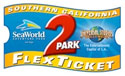 Southern California 2-Park Flext Ticket